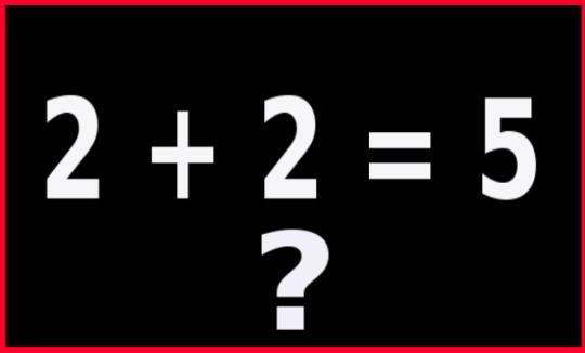 2 +2=5 imagebot