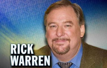 rick warren Capture