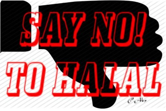 say no to halal Capture
