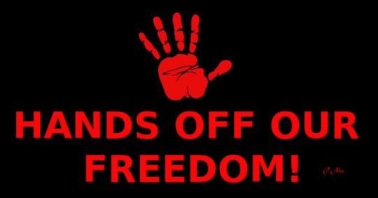hands off our freedom Capture