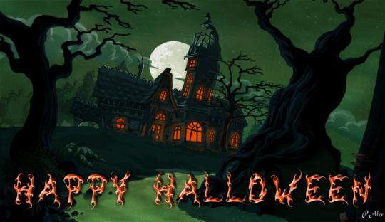 happy halloween imagebot