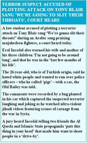 terror suspect accused Capture
