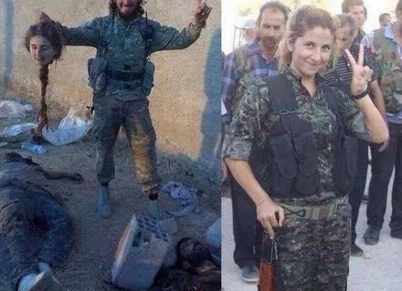 angel of kobane Capture