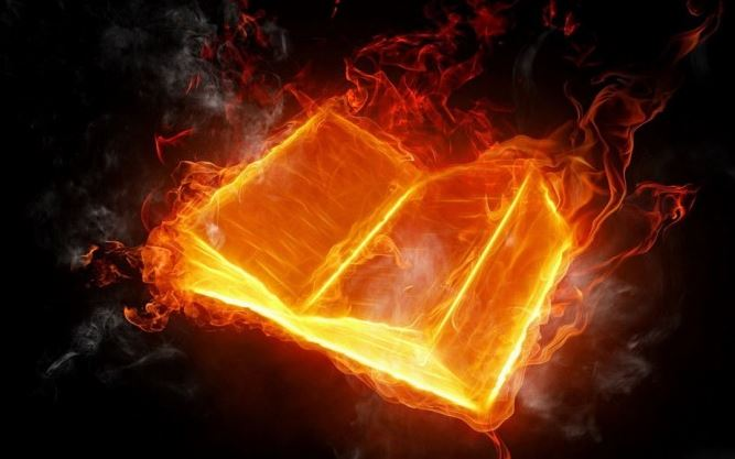 book buring Capture