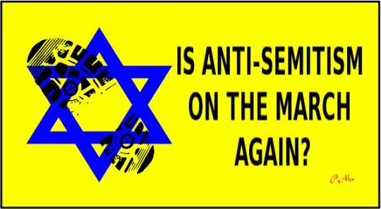 anti semitism on the march Capture