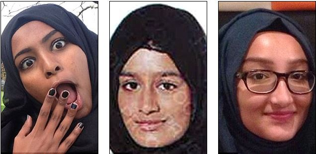 3 british girls married to isis terrorists