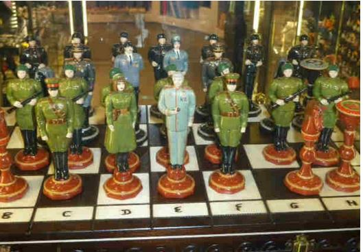 nazi chess board Capture