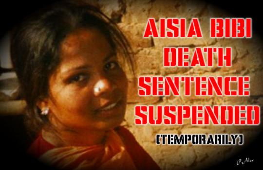 asia bibi death sentence imagebot