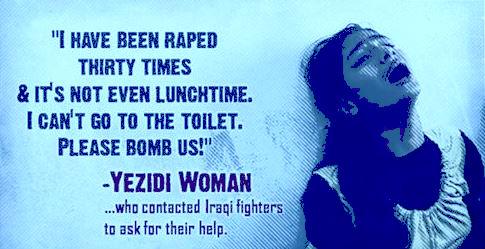 yazidi girls raped