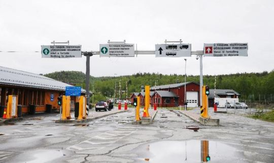 RUSSIA NORWAY BORDER Capture