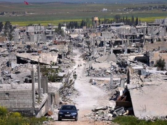 kobane rubble Capture