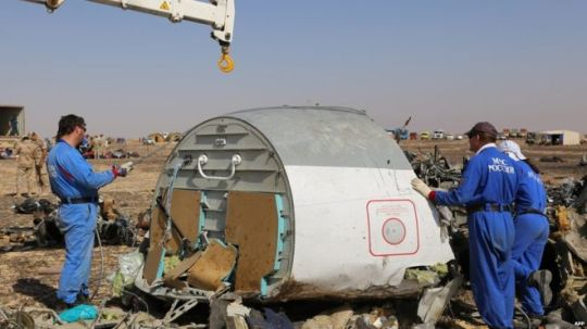 Russian airliner bombed