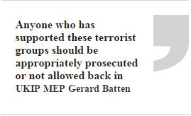 Eu And Labour Meps Say We Must Welcome Back Jihadis