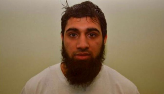nottingham terrorist Capture